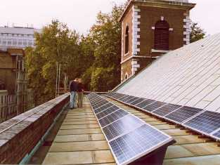 Click here for details of the nSt James Piccadilly Photo Voltaic Project.